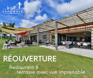 Réouverture du restaurant et bar du golf